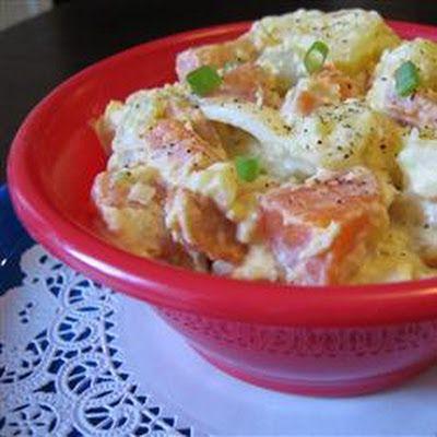 Sweet Potato Potato Salad | Potatoes etc | Pinterest