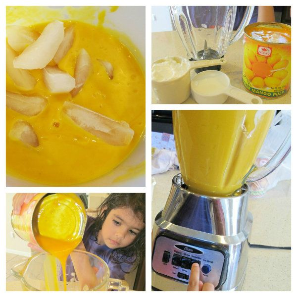Mango lassi. Hooray for finally owning a blender!