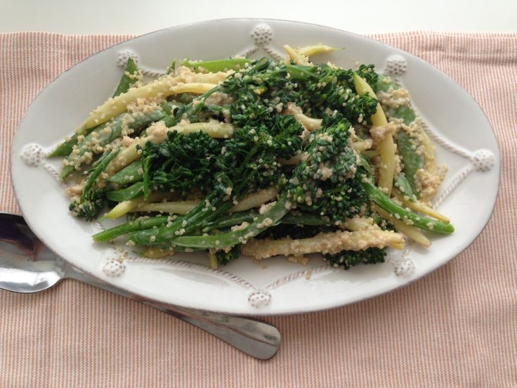 Ottolenghi's Sweet Sesame Broccolini Salad. Healthy and delicious ...