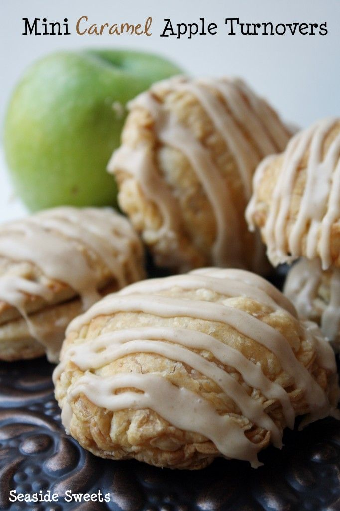 Caramel Apple And Pumpkin Turnovers Recipe — Dishmaps