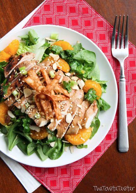 Asian Sesame Chicken Salad | Not your average Salad | Pinterest