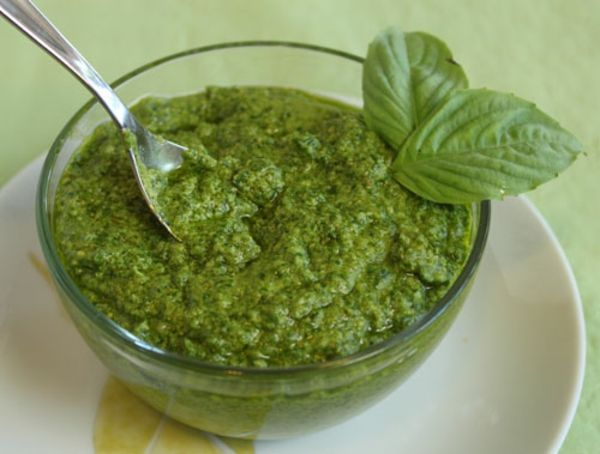 Basil Pesto Recipe | Food | Pinterest