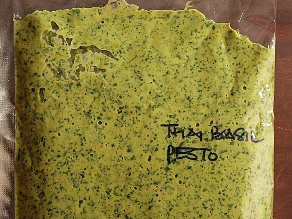 For very little effort, this simple Thai basil laksa leaf pesto adds ...