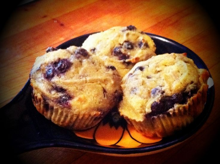 Coconut Flour Blueberry Muffins | PALEO FOOD | Pinterest