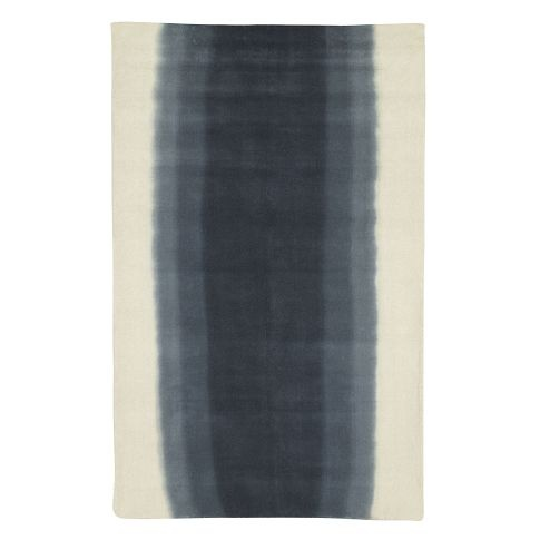 $349 for a 5 by 8 Ombre Dye Rug - Midnight | west elm