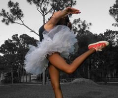 Converse and Tutu, Part Two | Flickr - Photo Sharing!