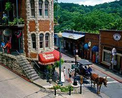 Eureka Springs, Arkansas.  Where we got married! Love it....
