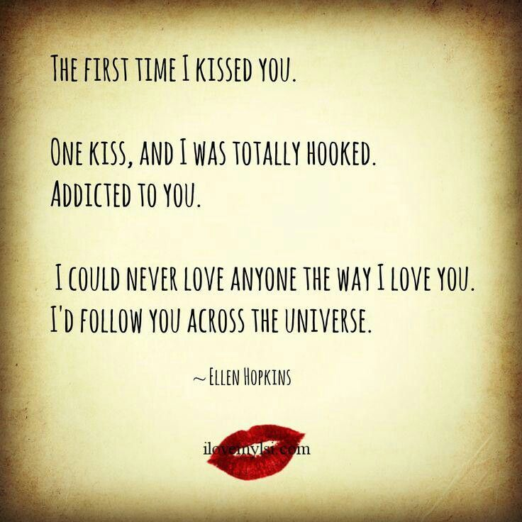 First Kiss Love Quotes : first kiss
