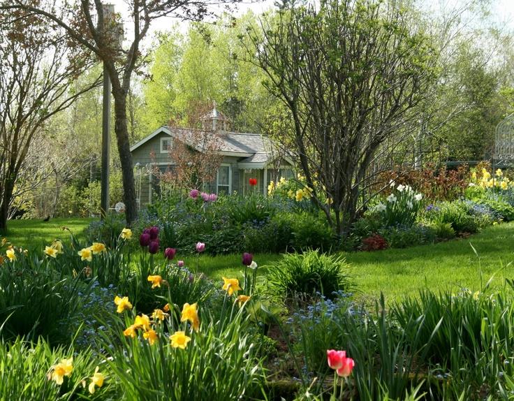 Beautiful cottage garden cottages pinterest for Beautiful cottages pictures