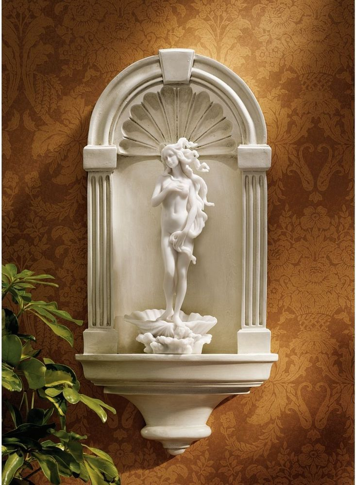 Renaissance roman arch wall niche medium wall sculpture home decor - Sculpture wall decor ...