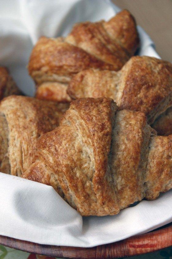 whole wheat croissants | bakeologybylisa.com