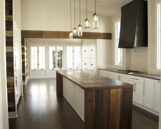 Reclaimed Wood Kitchen Island Kitchen Do Over Pinterest