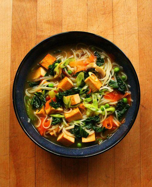 Seitan Noodle Soup Recipes — Dishmaps
