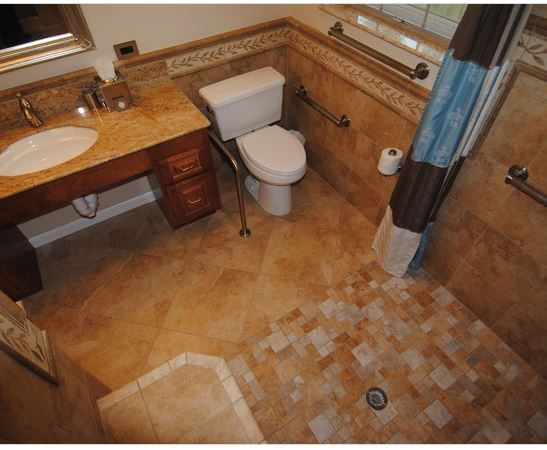 Barrier Free Bathroom Universal Design For Aging In Place Pintere