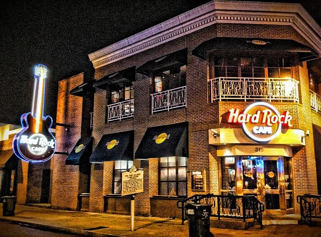 Hard Rock Cafe Memphis Memphis Tn
