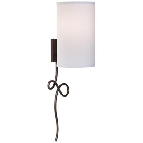 plug-in wall sconce home::bedroom Pinterest