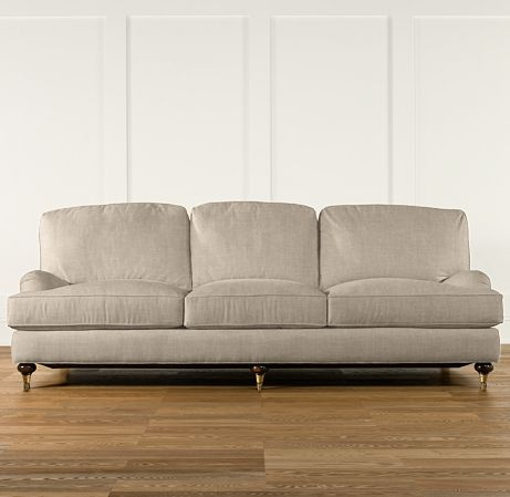 English Roll Arm Sofa eventually for the living room, I want one!!