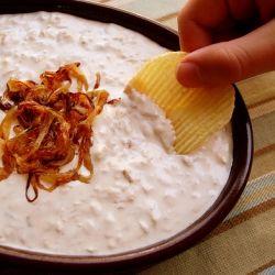 Maui Onion Dip - you'll never onion make dip from a little pouch again.