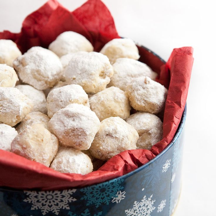 Snowball-Cookies, Also known As Jewish Wedding Balls (My Favorite!)