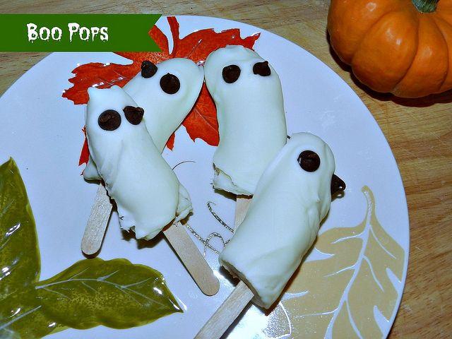 Boo Pops #SundaySupper | Halloween Treats | Pinterest