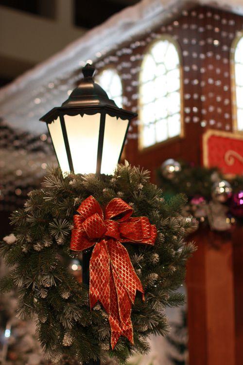 Christmas Greenery u0026 Bows : *Christmas Welcome* : Pinterest