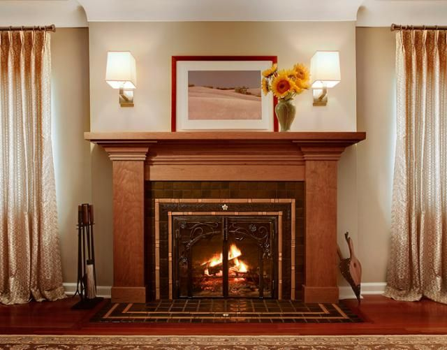 Pewabic Tile Fireplace.jpg  Home Decorating Inspirations  Pinterest