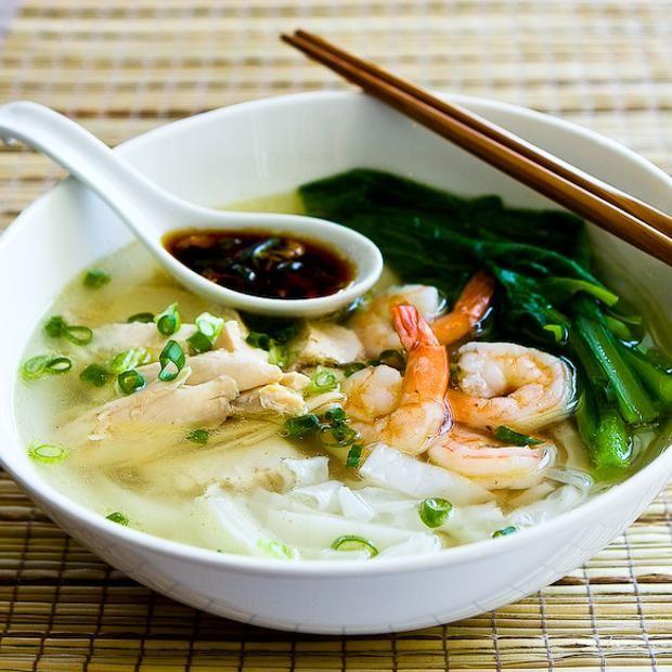 Malaysian Chicken Noodle Soup (Ipoh Sar Hor Fun) Recipe