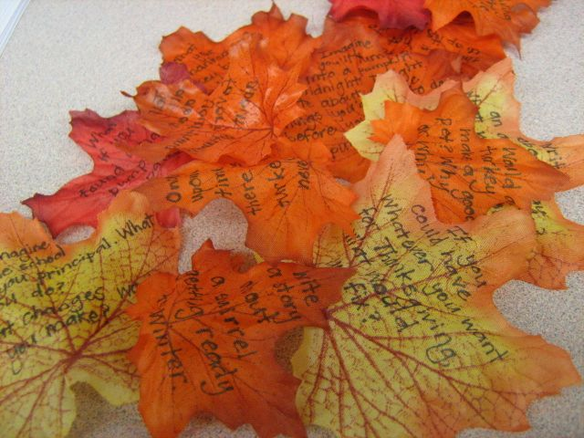 November Writing Ideas from Second Story Window (with heaps of other great ideas too!)