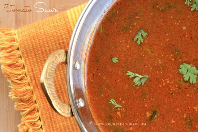 Tomato saar with cumin and pepper. 3 medium sized tomatoes 1 ...
