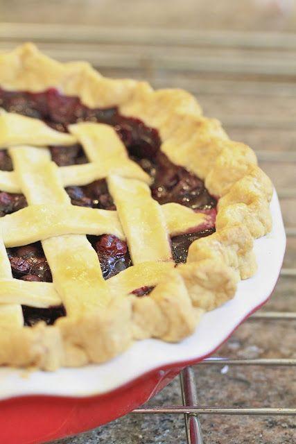 Blueberry Vanilla Pie | Blueberry | Pinterest