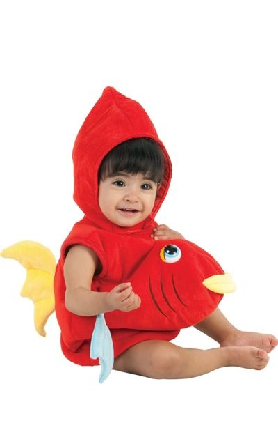 Baby red fish costume party city halloween pinterest for Baby fish costume