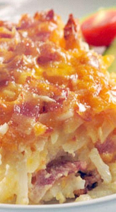 Potato Bacon Breakfast Casserole | Breakfast | Pinterest
