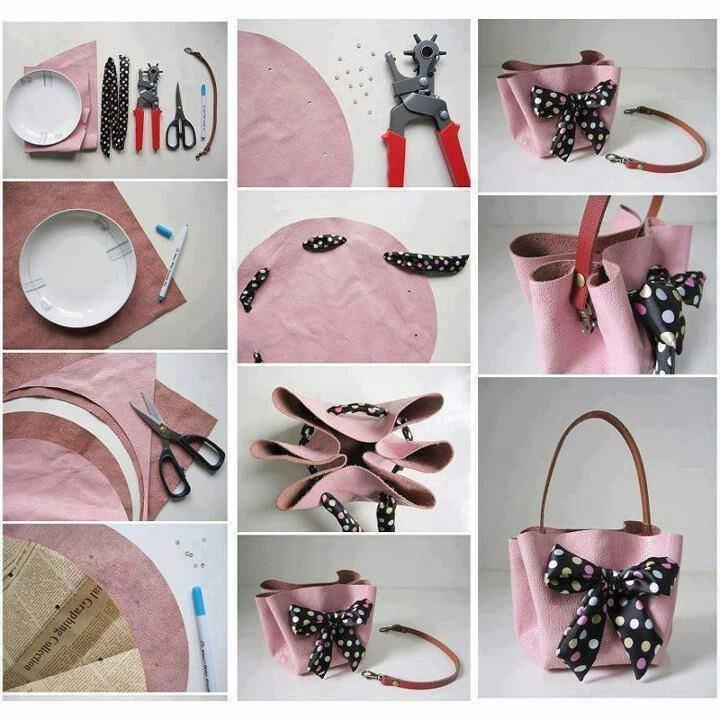 DIY Circle Bag
