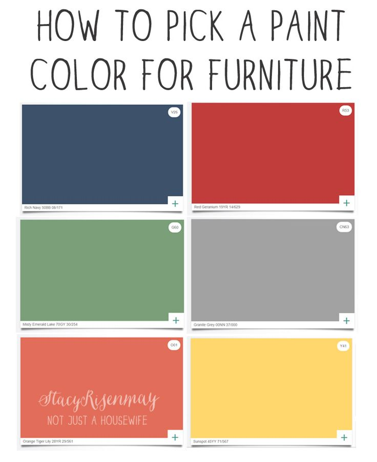 What Color To Paint Furniture Magnificent With Paint Colors Images