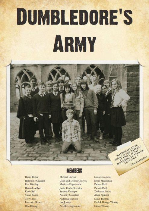dumbledore u0026 39 s army