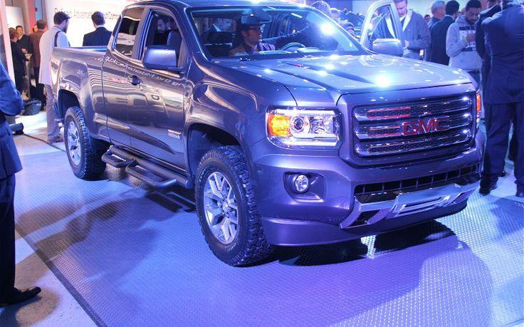 2015 GMC Canyon All Terrain Front | Trucks | Pinterest