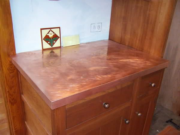 Diy copper countertops decor8 pinterest Copper countertops cost