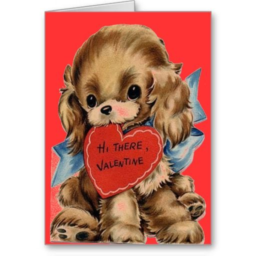 dog valentines day cards free
