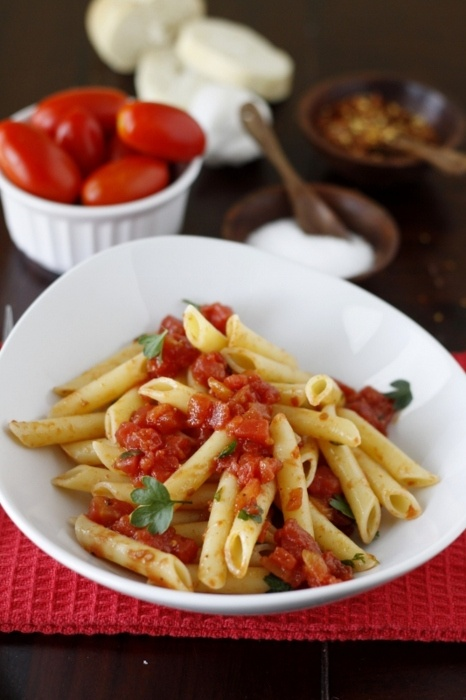 Spicy Penne Pasta | Deliciogasms | Pinterest
