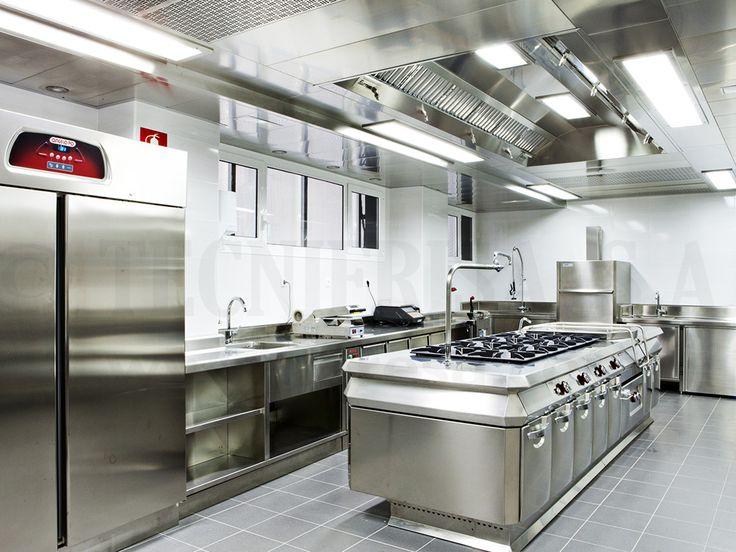Techos en cocinas industriales Tipos y acabados Infhostel