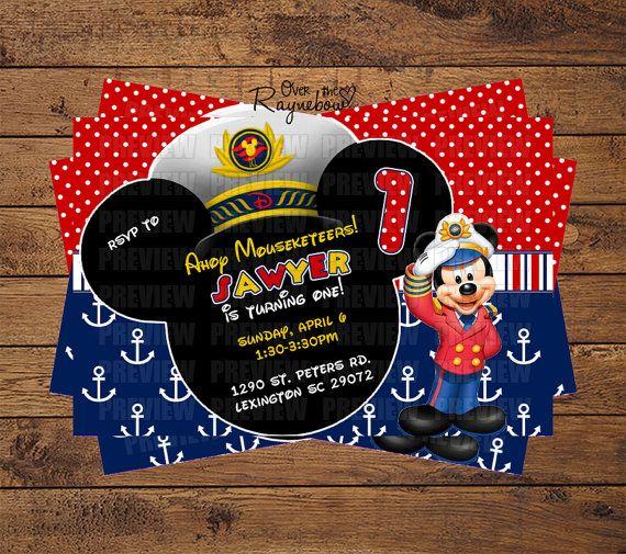Nautical Birthday Invitations as luxury invitation ideas