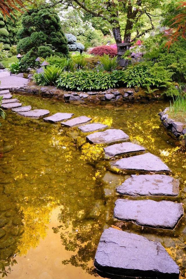 Beautiful Garden Japan Flowers Gardens Pinterest