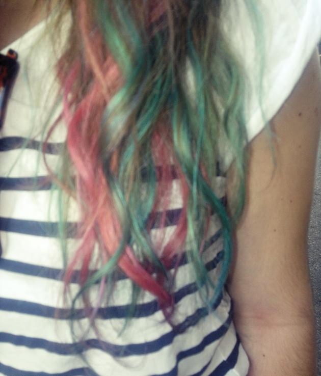 Crepe Paper Hair Dye  Hair  Pinterest