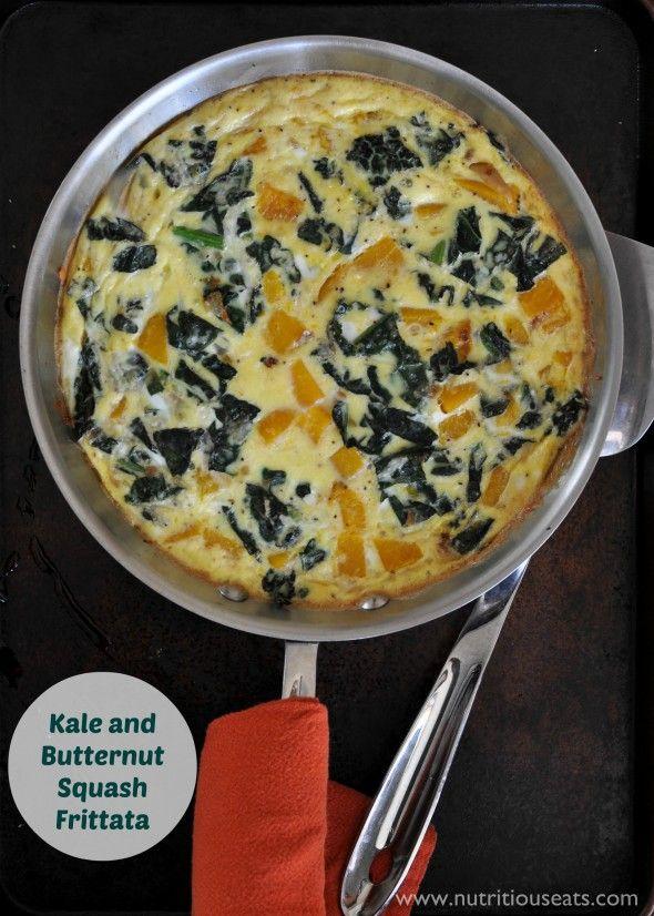 squash mushroom kale and sausage frittata squash kale butternut squash ...