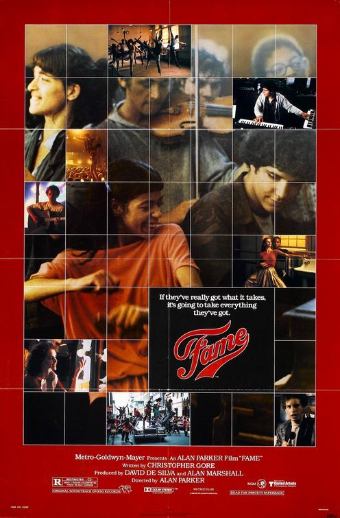 Fame (1980)   My kind of movies!   Pinterest