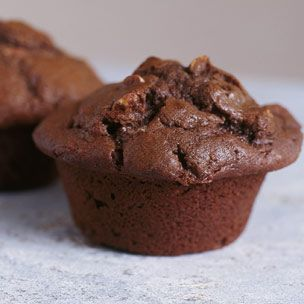 Dried Cherry-Chocolate Muffins | Cupcakes and Muffins | Pinterest