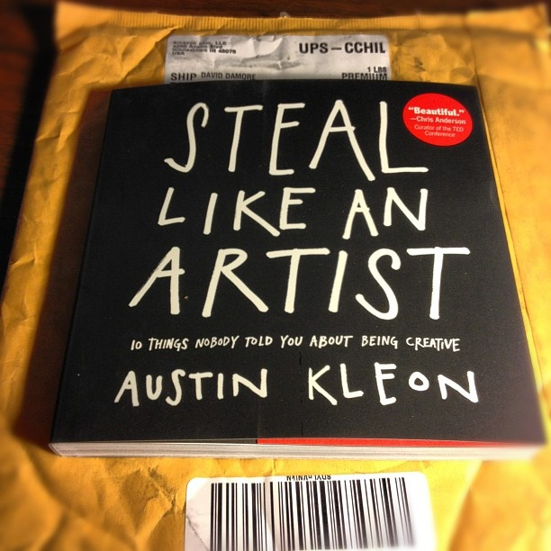 Shipping now from Amazon! http://steallikeanartist.com