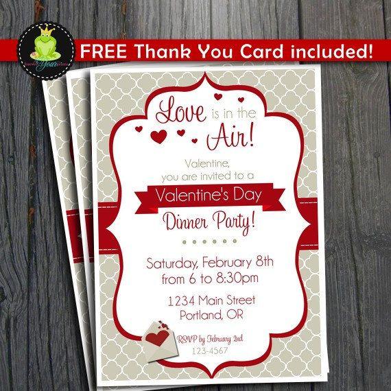 valentine card thank you