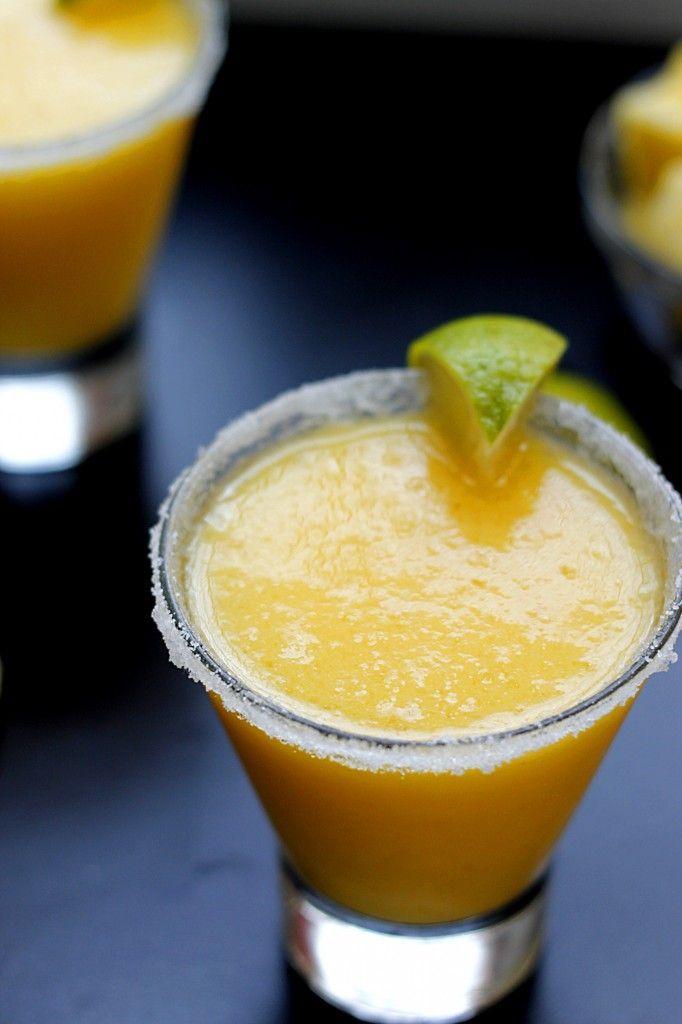 Fresh Pineapple Margaritas #recipe #recipes
