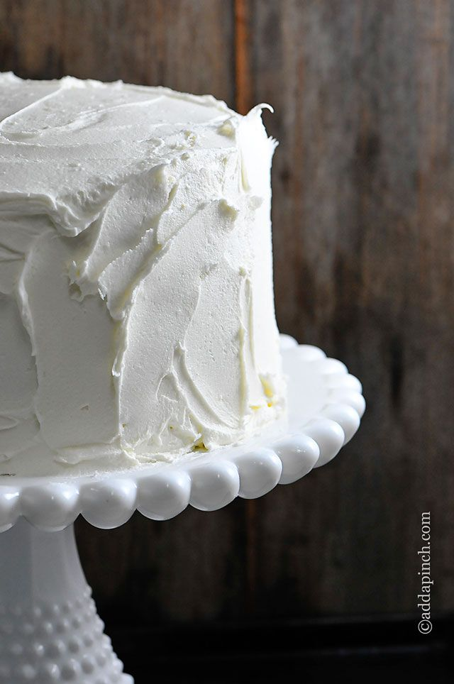 The Best White Cake Recipe {Ever} - Cooking | Add a Pinch | Robyn ...